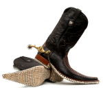 Apex Predator   Wild West   Boots   Sculpture by Fantich & Young   2014